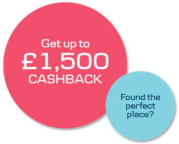 Danske Mortgage cashback bubble promotion text